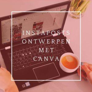 Icommit instagramposts ontwerpen met canva