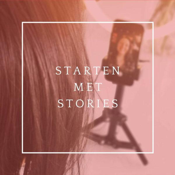 Icommit starten met stories
